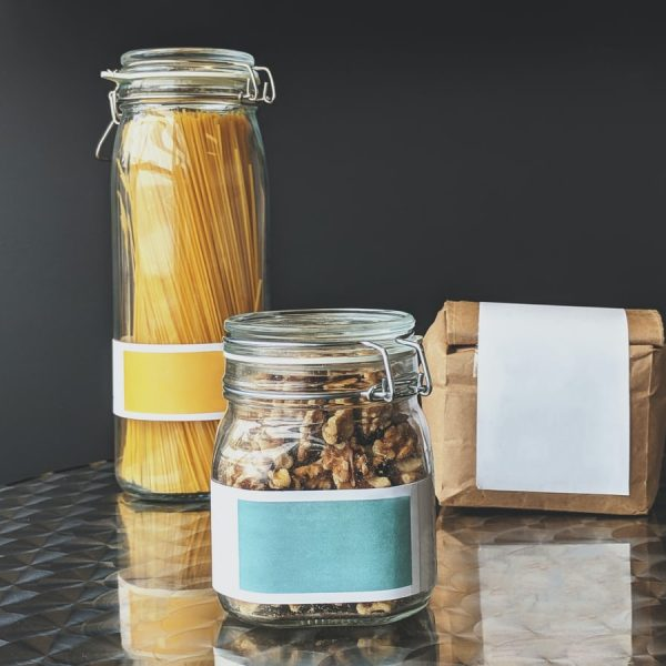 Sustainable food storage containers.